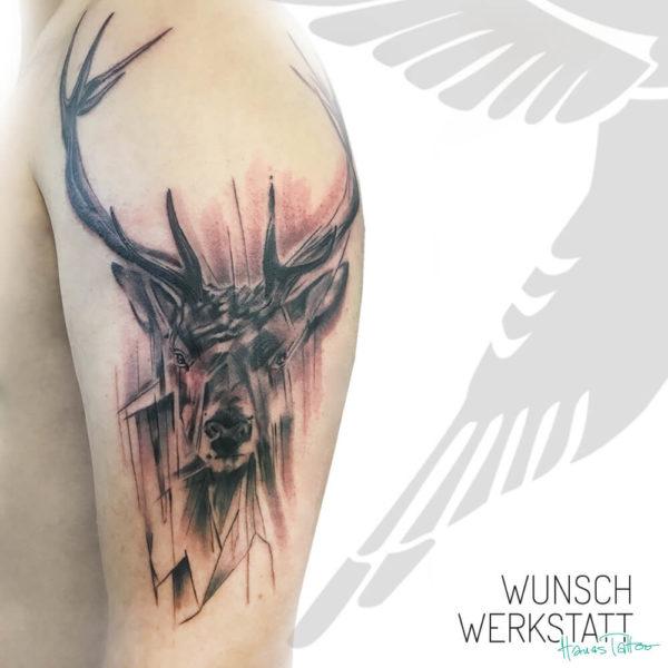 """""""Der Hirsch als Seelenführer kennt sich im Dickicht des Waldes aus und weist Suchenden wie Umherirrenden den rechten Weg."""""""