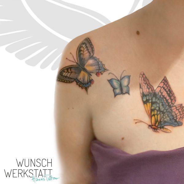 """""""Das Glück ist ein Schmetterling. Jag ihm nach und er entwischt dir, setz' dich hin, und er lässt sich auf deiner Schulter nieder."""""""