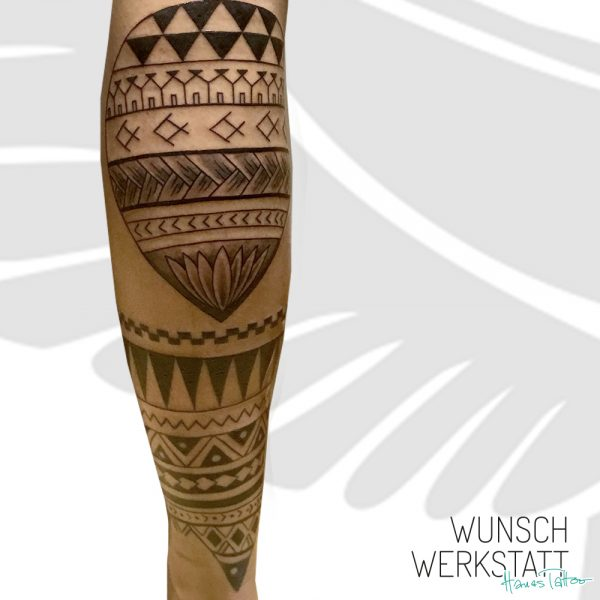 Armtattoo Maori Ellenbogen
