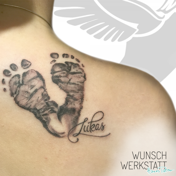 Tattoo Wunschwerkstatt Baby Füße